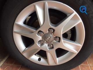 Jantes 16 Audi 5/112 com pneus